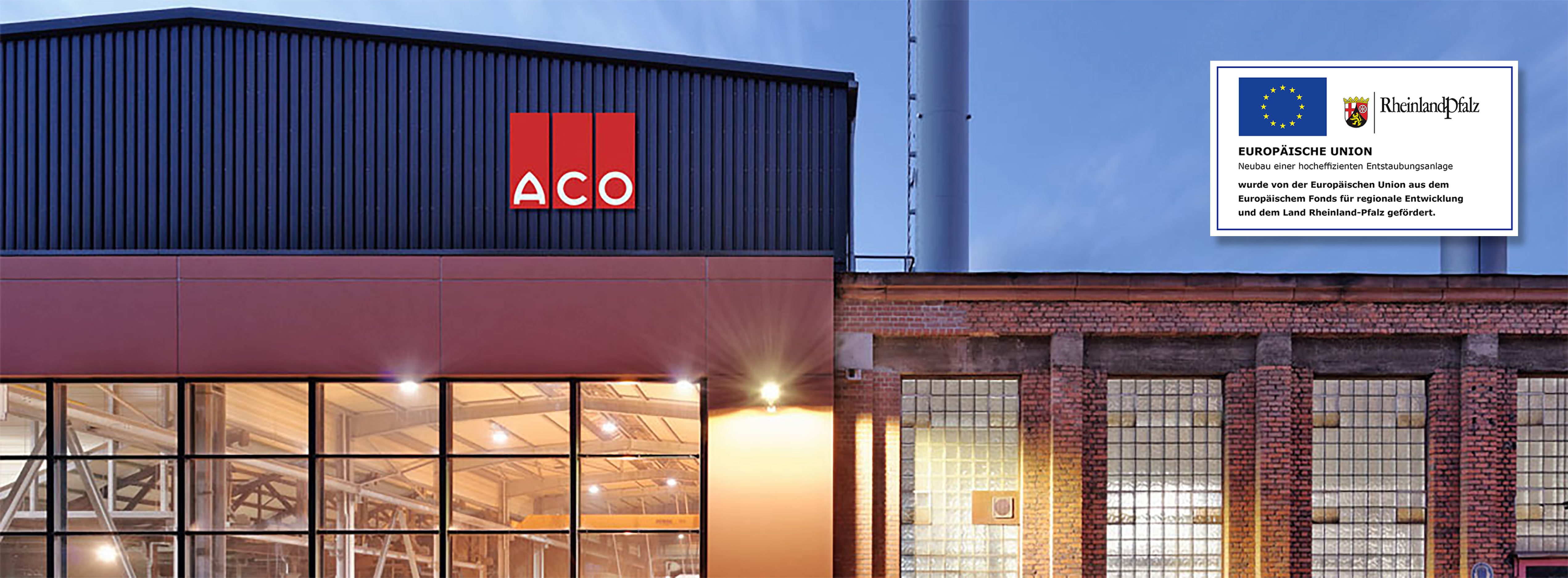 ACO Produktionshalle